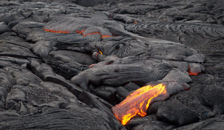 Closeup lava